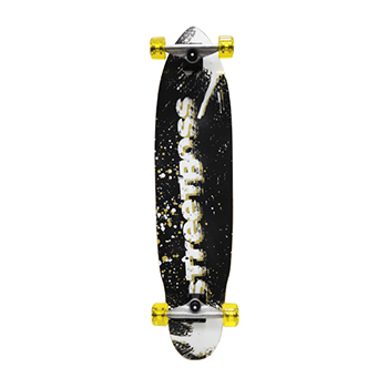 "38"" Longboards Completed-Streetboss - Black"