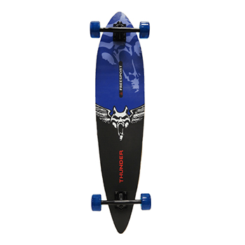 "40"" Longboards Completed-Thunder - Blue"
