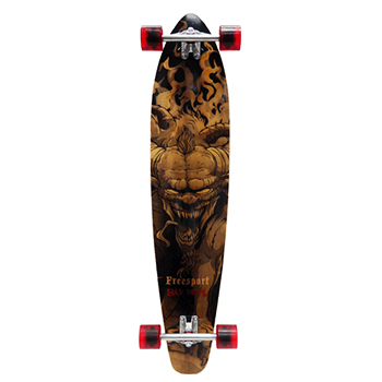 "42"" Longboards Completed-Bad Devil - Wood"